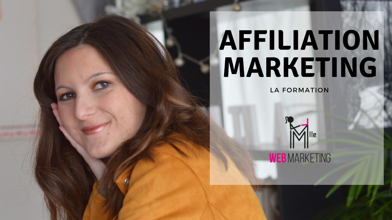 FORMATION sur L'AFFILIATION marketing de Nina Habault