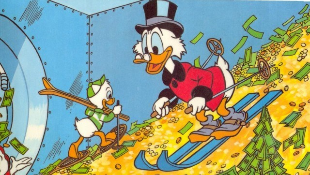 Comment Picsou gagne de l'argent sur internet pendant qu'il en dépense ?