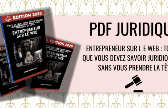 PDF juridique web entrepreneur